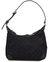 Louis Vuitton - Black Satin Little Boulogne, Never Carried - Lyst