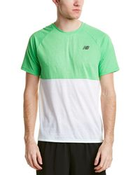 New Balance - Breathe Top - Lyst