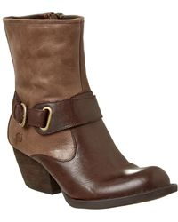Born - Nevica Leather Bootie - Lyst