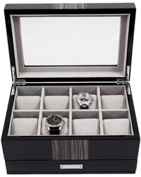 Bey-berk - Lacquered Wood 8-watch Box - Lyst
