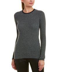 Vince - Stripe Cashmere Sweater - Lyst