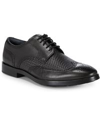 Cole Haan - Leather Wingtip Oxfords - Lyst