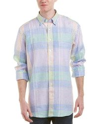 Mine - Apparel Inc Linen Woven Shirt - Lyst