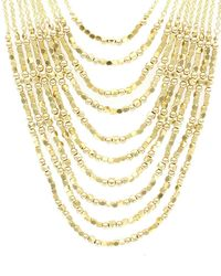 Sparkling Sage - 14k Plated Multi-strand Toggle Necklace - Lyst