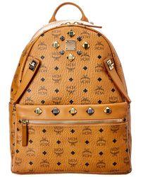 MCM - Dual Stark Visetos Backpack - Lyst