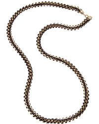 Kenneth Jay Lane - Gold Plated 40in Necklace - Lyst