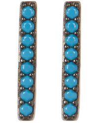 Adornia Silver And Turquoise Studs
