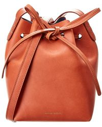 Mansur Gavriel - Mini Leather Bucket Bag - Lyst