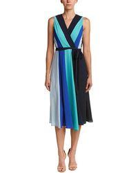 Eci - Sleeveless Colorblock Dress - Lyst