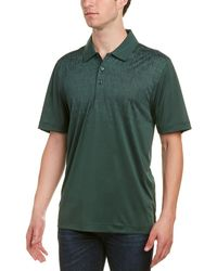 Cutter & Buck - Catapult Print Polo - Lyst