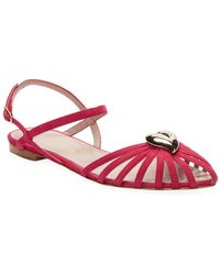 Aperlai - Leather Strap Sandal - Lyst