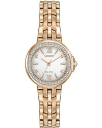 Citizen - 'silhouette' Diamond Watch - Lyst