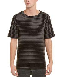 Vince - Raw-edge T-shirt - Lyst