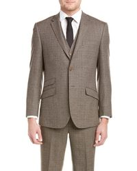 English Laundry - 3pc Vested Slim Fit Suit With Flat Front Pant - Lyst