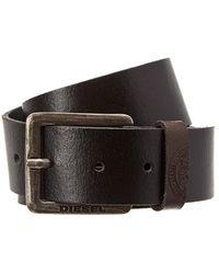 DIESEL - Mino Leather Belt - Lyst