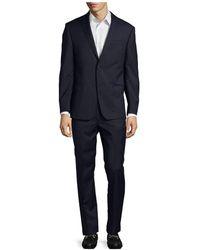 Michael Kors - Check Slim Wool Suit - Lyst