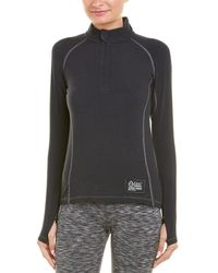 tasc Performance - Base Layer 1/4-zip Wool-blend Pullover - Lyst