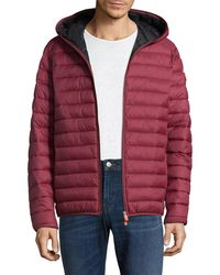 Save The Duck - Basic Hooded Puffer Jacket - Lyst