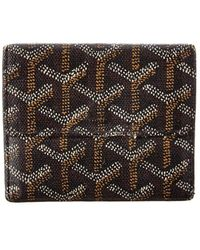 Goyard - Black Ine Canvas Coin Purse Wallet - Lyst