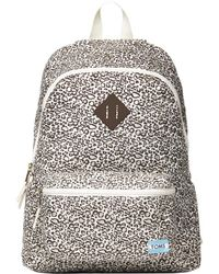 TOMS - Bobcat Printed Backpack - Lyst