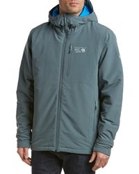 Mountain Hardwear - Superconductor Hooded Insulated Jacket - Lyst