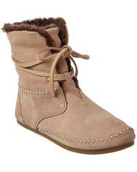 TOMS - Women's Zahara Suede Boot - Lyst