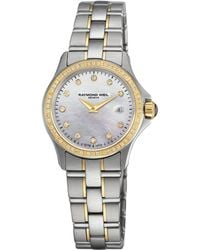 e959c067d55e Lyst - Rado Coupolse Mother Of Pearl Diamond Dial Ladies Watch ...