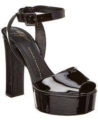 60fc09b501b Lyst - Giuseppe Zanotti Betty Sandals in Black
