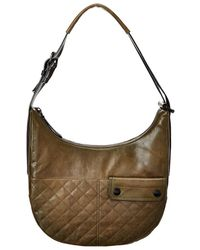 Frye - Samantha Quilted Leather Hobo - Lyst