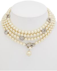 Carolee Invite Only Endless Strand Necklace - Metallic