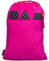Melissa Beth - Hot Pink Laundry Bag - Lyst