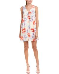 Peach Love CA - Floral Shift Dress - Lyst