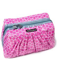 Melissa Beth - Gray Pretty Pleats Cosmetic Case - Lyst