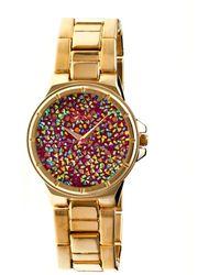 Boum - Cachet Crystal-dial Ladies Bracelet Watch - Lyst