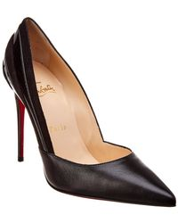 Christian Louboutin - Super 100 Leather & Suede Pump - Lyst