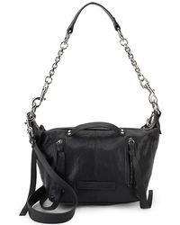 McQ - Mcq Alexander Mcqueen Textured Leather Shoulder Bag - Lyst
