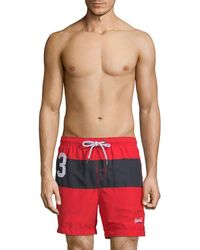 Superdry - Waterpolo Banner Swim Short - Lyst