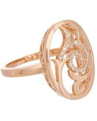 Effy - Fine Jewelry 14k Rose Gold 0.11 Ct. Tw. Diamond Ring - Lyst