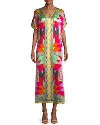 Temperley London - Misty Graphic Print Kaftan - Lyst