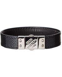 Louis Vuitton - Damier Graphite Canvas Check It Bracelet - Lyst