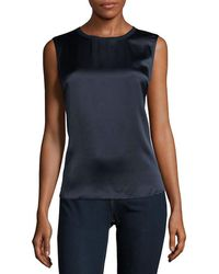 Vince - Two-tone Top - Lyst