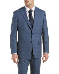 Austin Reed | Classic Fit Wool Suit With Flat Pant | Lyst