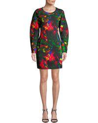Love Moschino - Print Shift Dress - Lyst