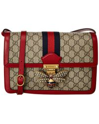 8c8377d58f86 Gucci - Queen Margaret Gg Supreme Small Crossbody Bag - - Lyst