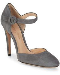 Gianvito Rossi - Stiletto Leather Pump - Lyst