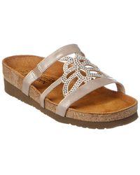 Naot - Aventura Leather Sandal - Lyst