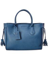 Longchamp - Penelope Medium Leather Shopper Tote - Lyst