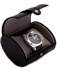 Bey-berk - Leather Travel Single-watch Case - Lyst