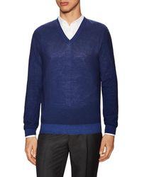 Ermenegildo Zegna - Z Wool V-neck Sweater - Lyst