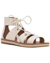 Lucky Brand - Dristel Leather Sandal - Lyst